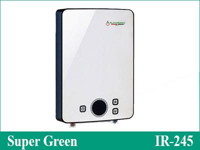 Máy nước nóng gia đình Super Green IR-245