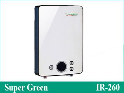 Máy nước nóng gia đình Super Green IR-260
